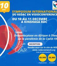 Conférence virtuelle sur la Drépanocytose sur Zoom « 10 ans du REDAC »