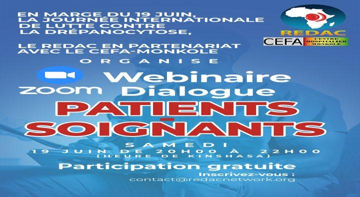 Webinaire sur Zoom : Dialogue patients-soignants